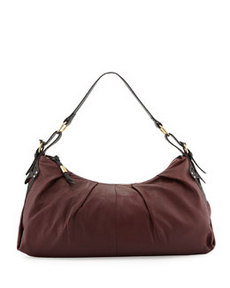 Foley + Corinna Equestrian Oversized Hobo Bag, Plum