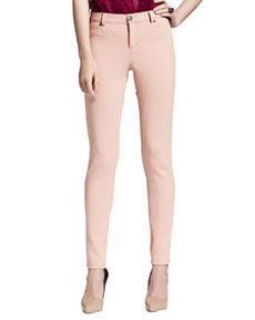 Lanvin Jean-Inspired Leggings, Beige