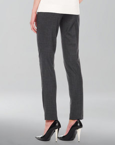 Michael Kors Samantha Skinny Tropical Wool Pants
