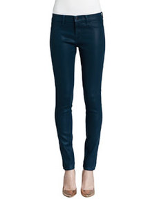 Low-Rise Coated Jeans   Low-Rise Coated Jeans