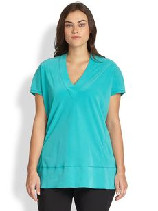 Lafayette 148 New York, Sizes 14-24 Whitley Washed Silk Top