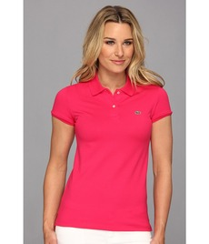 Lacoste S/S 2 Button Stretch Pique Polo