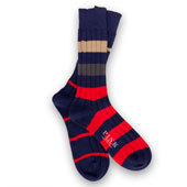 mixed stripe socks