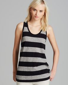 rag & bone/JEAN Tank - Cast Striped