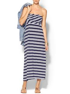 Michael Stars Mercer Stripe Convertible Skirt/Dress