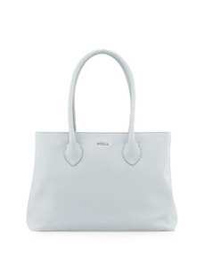 Furla Martha Saffiano Medium Satchel Bag, Dew
