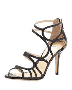 Summit Glittered Strappy Sandal   Summit Glittered Strappy Sandal