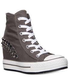 Converse Women's Chuck Taylor All Star Platform Plus Hi Casual Sneakers from Finish Line