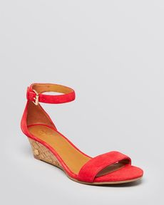 Tory Burch Wedge Sandals - Savannah Cork