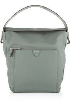 Marc Jacobs The Eldridge rubberized-leather shoulder bag