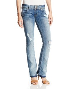Hudson Jeans Women's Petite Signature Boot Jean in Daytripper