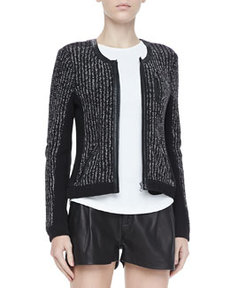 Paula Knit Zip Jacket   Paula Knit Zip Jacket