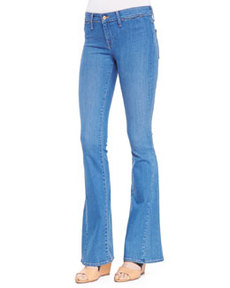 Aqueous Mid-Rise Flare Jeans   Aqueous Mid-Rise Flare Jeans