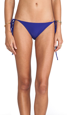 Rachel Pally Ibiza Bikini Bottom in Blue