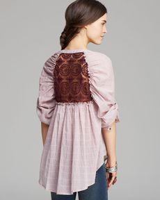 Free People Top - Put Your Back Into It
