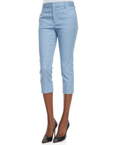 J Brand Ready to Wear Davis Ankle-Cropped Trouser Pants