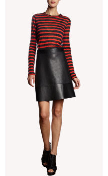 Proenza Schouler Striped Long Sleeve T-Shirt