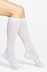 Nordstrom 'Animal' Piqué Knee High Socks