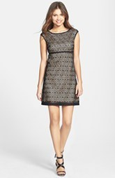 Laundry by Shelli Segal Eyelet Lace Fit & Flare Dress