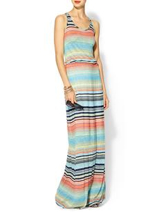 Michael Stars Exclusive Happy Stripe Highline Maxi Dress
