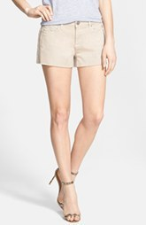 Paige Denim 'Catalina' Denim Cutoff Shorts (Faded Khaki)