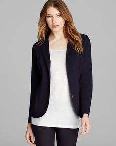 Eileen Fisher Zip-Up Blazer - Bloomingdale's Exclusive
