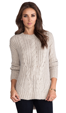 Trina Turk Rowen Sweater in Gray
