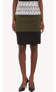 Proenza Schouler Paneled Pencil Skirt