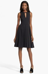 Tracy Reese Pleated Fit & Flare Dress