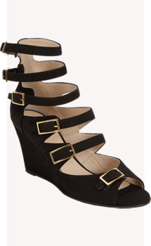 Chloé Multi-strap Wedge Sandal