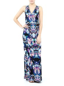 Brushstroke Maxi Dress