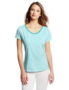 Jockey Women's Contrast Neck Sleep Top