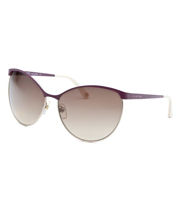 Michael By Michael Kors Women's Michael Kors Finley Cat Eye Purple Sunglasses
