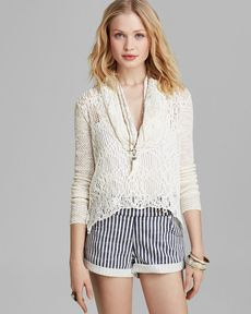 Free People Sweater - Just Like the Cowl