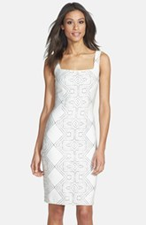 Cynthia Steffe 'Eloise' Sleeveless Print Dress