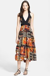 Jean Paul Gaultier Halter Midi Dress