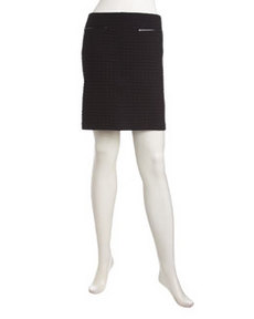 Laundry by Shelli Segal Textured Knit Skirt