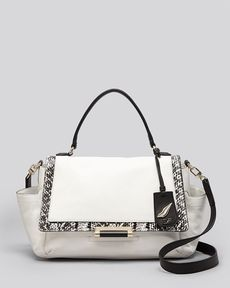 DIANE von FURSTENBERG Satchel - Highline Courier Exotic Print