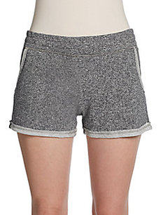 Saks Fifth Avenue BLUE Raw Edge Shorts