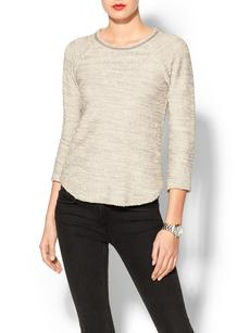 Rebecca Taylor Embellished Neck Top