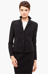 Akris punto Two Button Wool Jacket