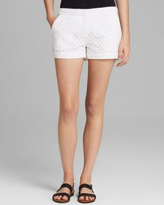 Joie Shorts - Merci Diamond Eyelet