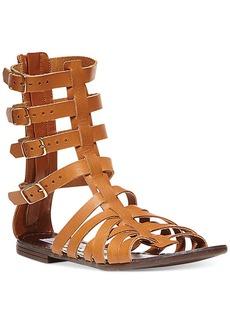 Steve Madden Women's Ceaserr Flat Gladiator Sandals