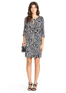 Agness Printed Tunic Dress