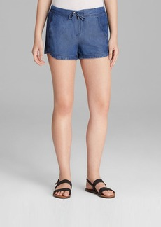 Splendid Shorts - Chambray Indigo Dye