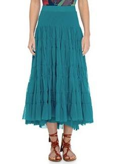 Tiered Tulle Maxi Skirt   Tiered Tulle Maxi Skirt