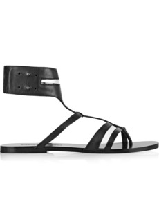 Sigerson Morrison Baker leather sandals