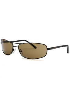 Kenneth Cole Reaction Women's Rectangle Brown Sunglasses