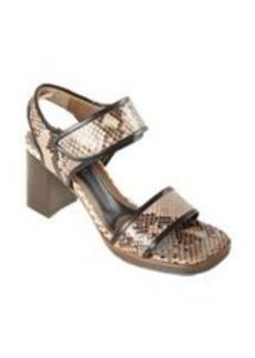 Marni Trimmed Python Sandal