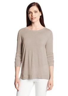 Calvin Klein Women's Pullover Sweater with Linen